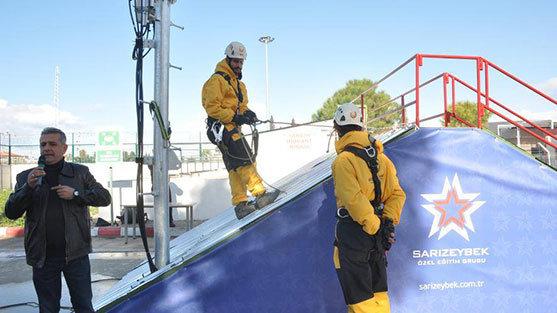 Yüksekte Güvenli Çalışma Eğitimi
